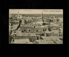 Cartolina Libia Tripoli Panorama Generale - Libia