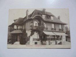 CPA 27 EURE - PINTERVILLE : Château Du Parc - Pinterville
