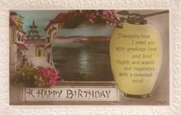 A Happy Birthday - Cumpleaños