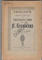 TIENEN/TIRLEMONT Collegiale Kerk Heilige Germanus - F. De Ridder 1906  (R253) - Vecchi