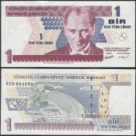 Turkey P 216 - 1 New Lira 2005 - UNC - Turchia