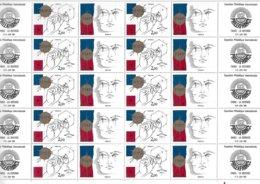 Feuille Neuve De 20 Timbres Avec Logo Nos 2141 Et 2142 - PhilexFrance 82 - Feuilles Complètes