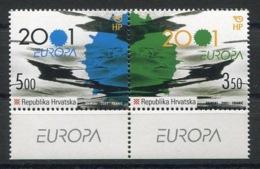 RC 14089 EUROPA 2001 CROATIE NEUF ** MNH - 2001