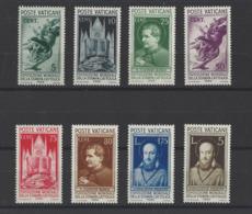 VATICAN.  YT  N° 72/79  Neuf *  1936 - Vatican