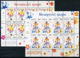 RC 14090 EUROPA 2002 BIELORUSSIE 2 FEUILLETS NEUF ** MNH - 2002