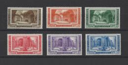 VATICAN.  YT  N° 80/85  Neuf *  1938 - Vatican