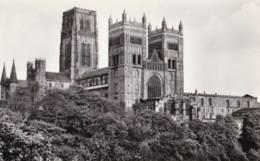 AL21 Durham Cathedral From N.W. - RPPC, Local Publisher - Durham