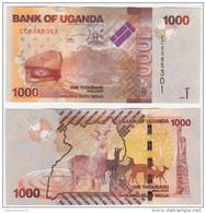 Uganda P 49 D - 1000 1.000 Shillings 2015 - UNC - Uganda