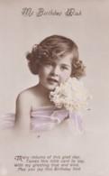 AS94 Children - Young Girl - My Birthday Wish - Portraits