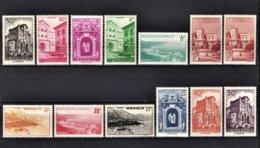 MONACO 1948 - SERIE 13 TP NEUFS** / Y.T.  N° 307 A 313C /13 - Unused Stamps