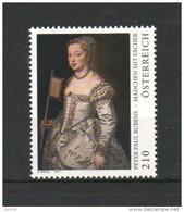 """Österreich 2017:  """"Rubens Mädchen"""" Postfrisch (siehe Foto) - 1945-.... 2. Republik"""