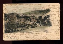 C2394 ESPAÑA - COMUNIDAD VALENCIANA VALENCIA - ALCOY - EL SALT VIAJADA 1905 - EDICIÓN LIBRERIA DE JOSÉ LLORENS - Spain