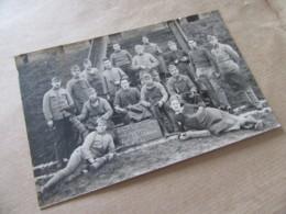 57 SAINT AVOLD Carte Photo 146  RI Regiment Infanterie  Vive La Classe 1923 142 Au Jus Cordonniers  Militaire Moselle - Saint-Avold