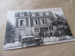 02 SISSONNE Carte Publicitaire Hôtel-Restaurant Félix Puissauve. Le Plus Proche Du Camp  (Aisne), Garage - Sissonne