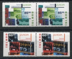 RC 14098 EUROPA 2003 ISLANDE PAIRE DE CARNET NEUF ** MNH - 2003