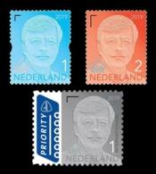 Netherlands 2019 Mih. 3323IV 3328IV 3329IV Definitive Issue. King Willem-Alexander MNH ** - Ongebruikt
