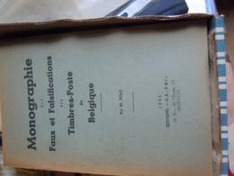 FAUX ET FALSIFICATION DE TIMBRES EN BELGIQUE  1943 - Administrations Postales
