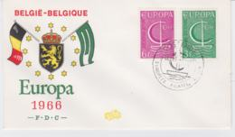 Belgium FDC 1966 Europa CEPT (T3-39) - Europa-CEPT