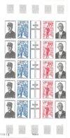 Feuille Neuve Hommage Au GENERAL DE GAULLE 1971 - Full Sheets