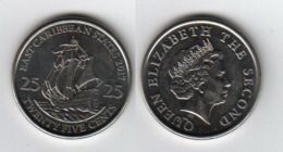 CARAIBES  East Caribbean States 25 Cents 2017 - Caribe Oriental (Estados Del)