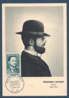 France - Carte Maximum - Toulouse Lautrec - Albi - 1958 - Cartoline Maximum