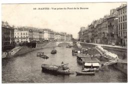 NANTES (44) - Vue Prise Du Pont De La Bourse - Ed. Vasselier, Nantes - Nantes