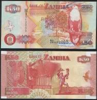Zambia DEALER LOT ( 5 Pcs ) P 37 F - 50 Kwacha 2007 Printer SABN - UNC - Zambia