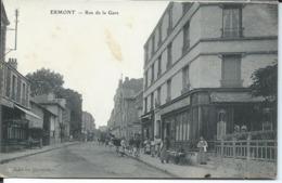 Ermont-Rue De La Gare. - Ermont