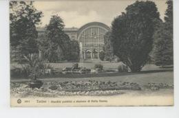 ITALIE - TORINO - Giardini Pubblici E Stazione Di Porta Nuova - Parcs & Jardins