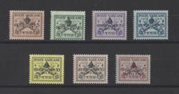VATICAN.  YT  N° 85A/85G  Neuf **  1939 - Vatican