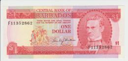 Barbados  1 Dollar 1980 Pick 29 UNC - Barbados