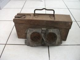 Lot Caisse Munition Avec Masque - 1914-18