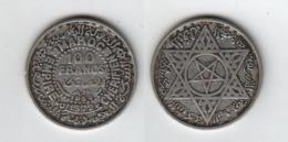 MAROC  100 Francs 1953  Morocco - Maroc
