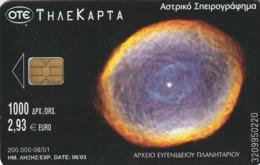 TARJETA TELEFONICA DE GRECIA. Planetarium And Space. Planetarium 10, X1248a (042) - Espacio