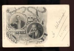 C2411 THE RIGHT HON. JOSEPH CHAMBERLAIN SIR ALFRED MILNER  1902- PHOTS ELLIOT & FRY - Royal Families