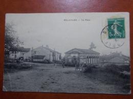 Carte Postale  - RELANGES (88) - La Place -1916  (3656) - Autres Communes