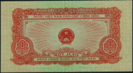 VIETNAM - North Viet Nam - 1 Hao 1958 AU-UNC P.68 - Vietnam