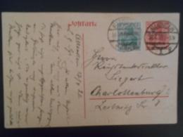 Allemagne Allenstein , Carte De 1920 Pour Charlottenburg - Germany