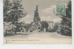 ITALIE - TORINO - Giardino Di Piazza Statuto E Monumento Del Frejus - Parcs & Jardins