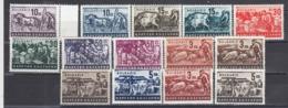 Bulgaria 1940 - Bulgarische Wirtschaft, Mi-Nr. 412/23+420b+422b, MNH** - 1909-45 Kingdom