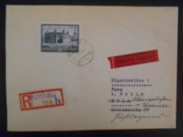 Pologne Gouvernement General , Lettre Recommandee De Krakau 1941 Pour Koln - 1939-44: 2. WK