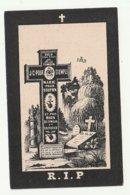Décès Fanny GHISLAIN Enghien 1899 Dans Sa 59è Année - Images Religieuses