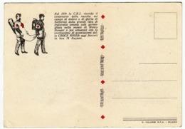 NEL 1959 LA C.R.I. RICORDA IL CENTENARIO...CROCE ROSSA - LA BATTAGLIA DI SOLFERINO - Vedi Retro - Croce Rossa