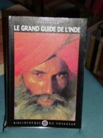 LE GRAND GUIDE DE L'INDE Gallimard 1998 Bibliothèque Du Voyageur. - Geographie