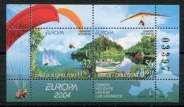 RC 14112 EUROPA 2004 SERBIE MONTENEGRO NEUF ** MNH - 2004