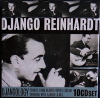 DJANGO REINHARDT - Coffret De 10 C.D  . - Compilations