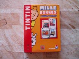 TINTIN JEU MILLE BORNES EXPRESS-VOIR -2102 - Tintin