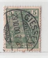 MiNr.55 O Deutschland Deutsches Reich - Gebraucht