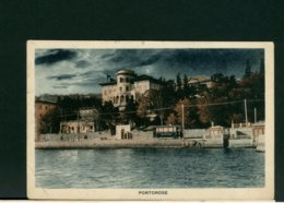 CARTOLINA -  ITALIA  -  JUGOSLAVIA  PORTOROSE  1931 - Jugoslavia