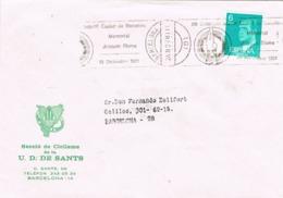 34137. Carta BARCELONA 1981. Rodillo Especial Gimnasia Criterium Joaquin BLUME - 1931-Hoy: 2ª República - ... Juan Carlos I